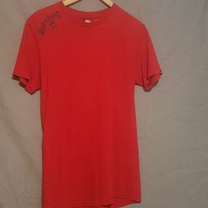 Red Quiksilver t-shirt